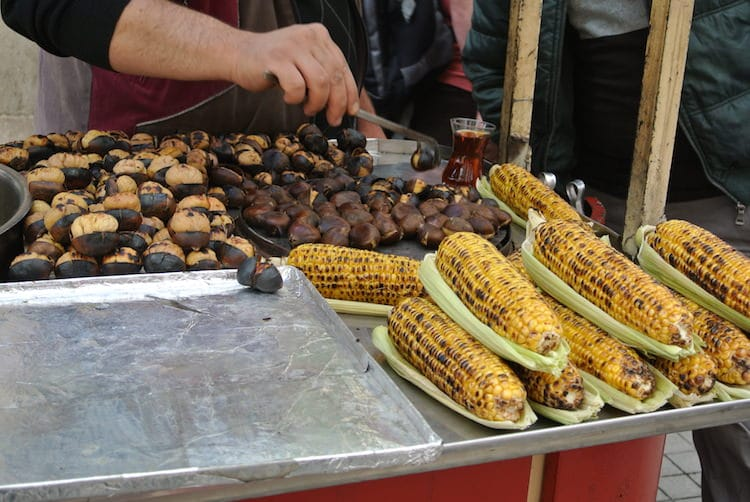 Roasted Chestnuts Istanbul