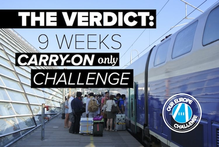 """The Verdict: Our 9 Week """"Carry-On Bag Only"""" Challenge"""