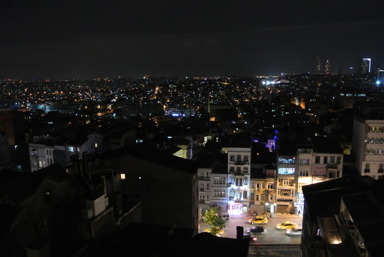 Istanbul View From Above
