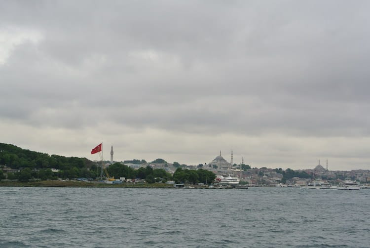 View of the old city, Istanbul