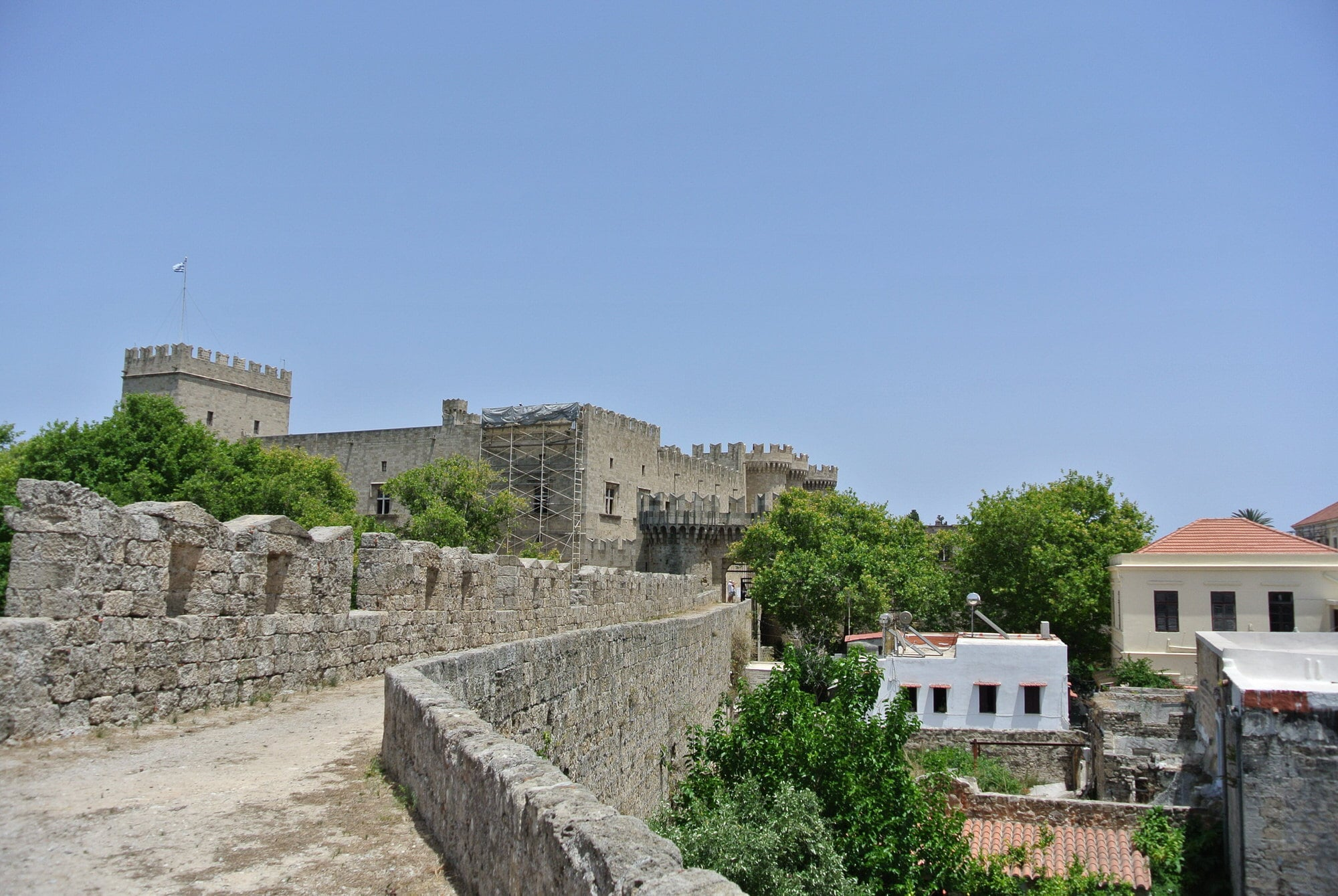Rhodes Old City Walls and Palace of the Knights