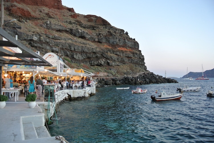 Dinner at Amoudi Bay