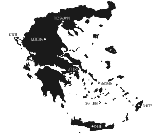 Greece Map + Greek Islands Map