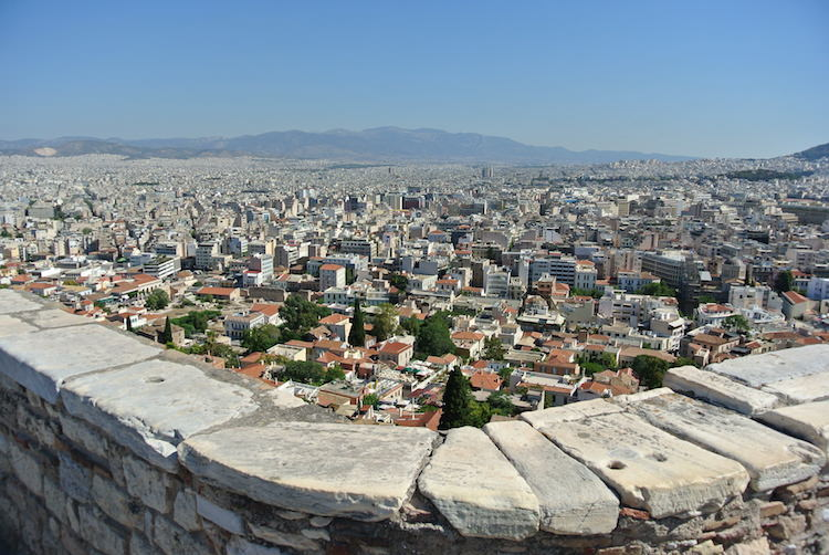View Over The City