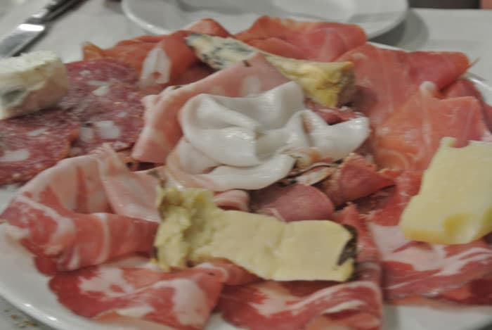 Cheese, Salame and Proscuitto