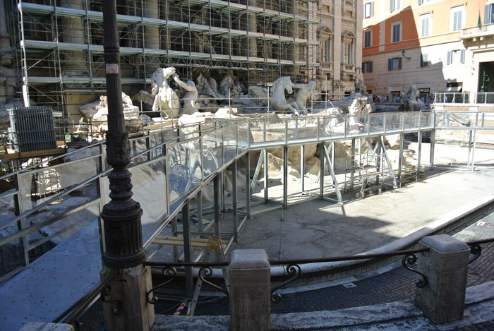 The Trevi Fountain... Sort Of