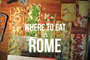 Where To Eat In Rome: Our Favourites