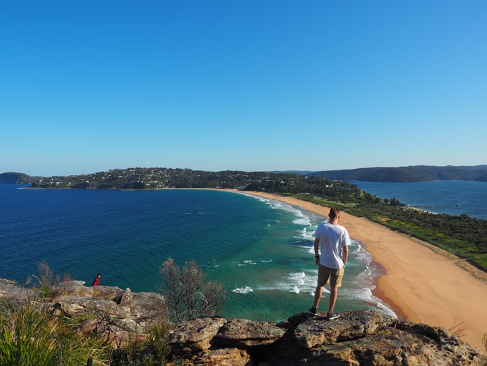 Chris at Barrenjoey Headland