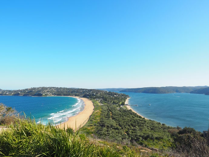 View Of Palm Beach From Barrenjoey Headland