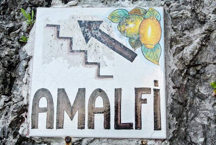 Amalfi Sign