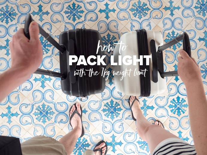 How To Pack Light With The 7kg Weight Limit
