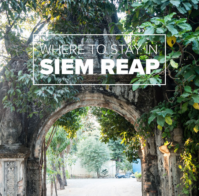 Where to stay in Siem Reap Accommodation Guide
