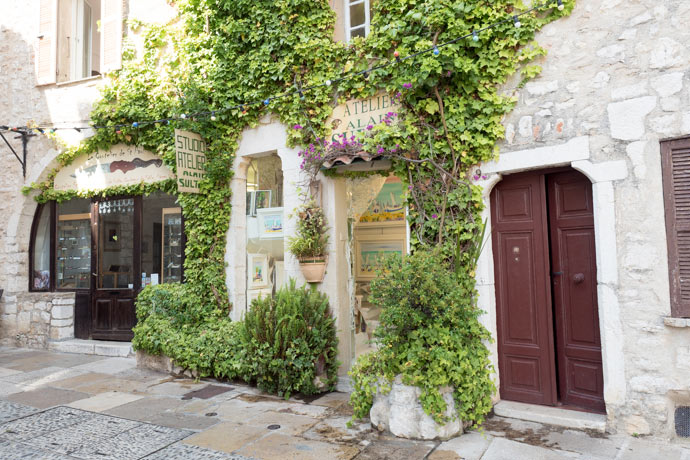 Beautiful Architecture of Saint Paul de Vence France