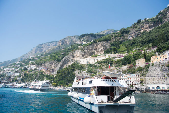 Ferries In Amalfi Coast