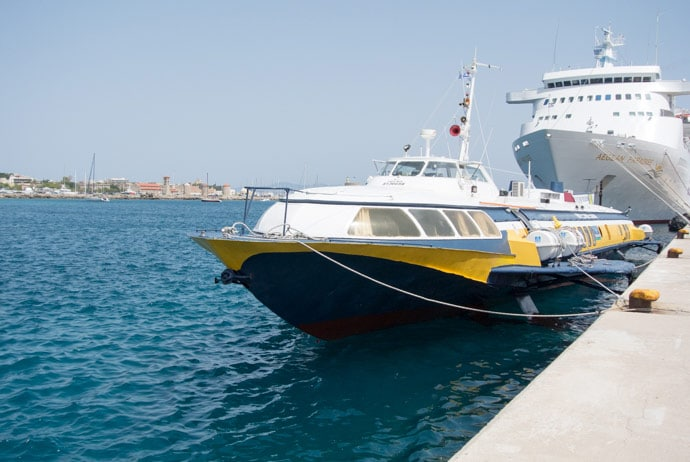 Hydrofoil From Turkey To Greece