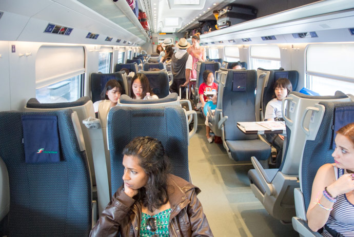Second Class Trains In Europe