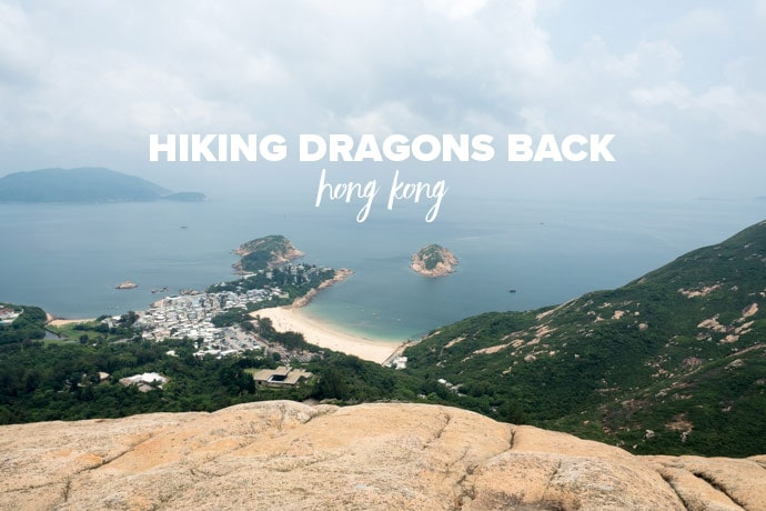 Hiking Dragons Back Hong Kong