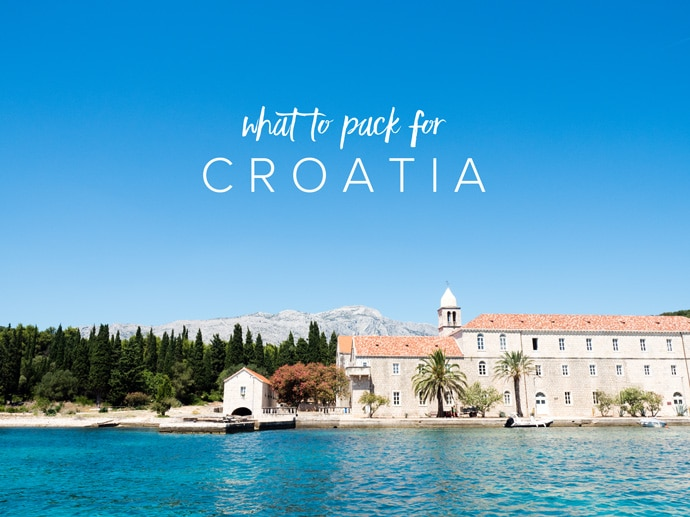 What To Pack For Croatia