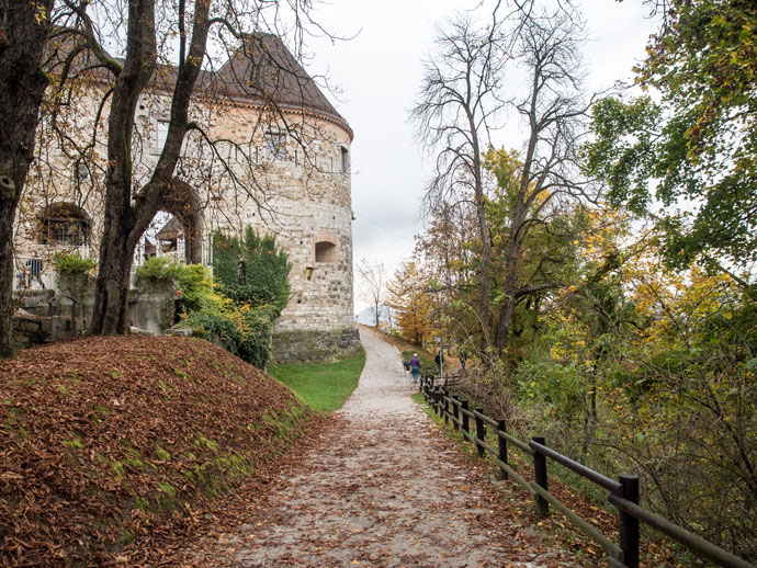 Path To Ljubljana Castle