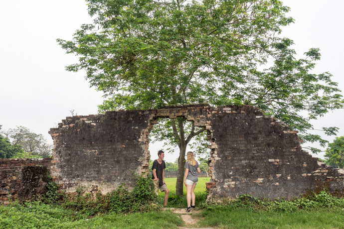 Exploring The Imperial City Hue