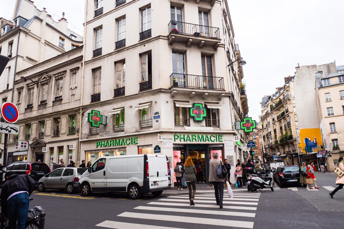 French Pharmacy Paris