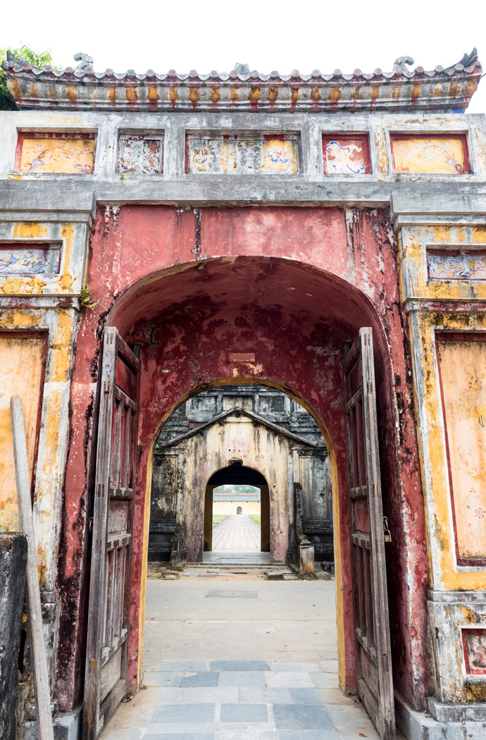 Hue Imperial City Doors