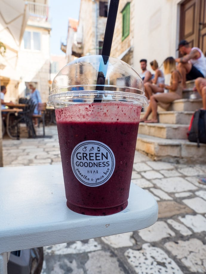 Green Goodness Smoothie Hvar