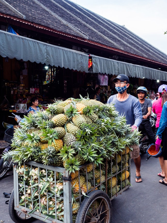 Hoi An Street Food Pineapples