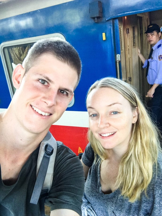 Mandy And Chris Travel Vietnam By Train