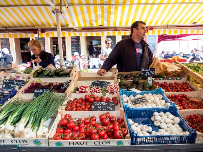 Things To Do In Nice Marche Aux Fleurs