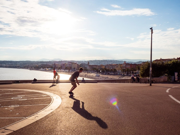Things To Do In Nice Skating The Promenade Des Anglais