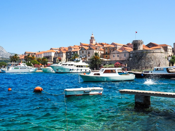 Where To Stay In Korcula Croatia: Our Korcula Accommodation Guide