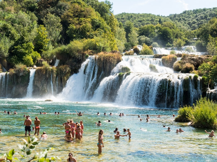 Krka National Park Croatia A Great Day Trip From Split