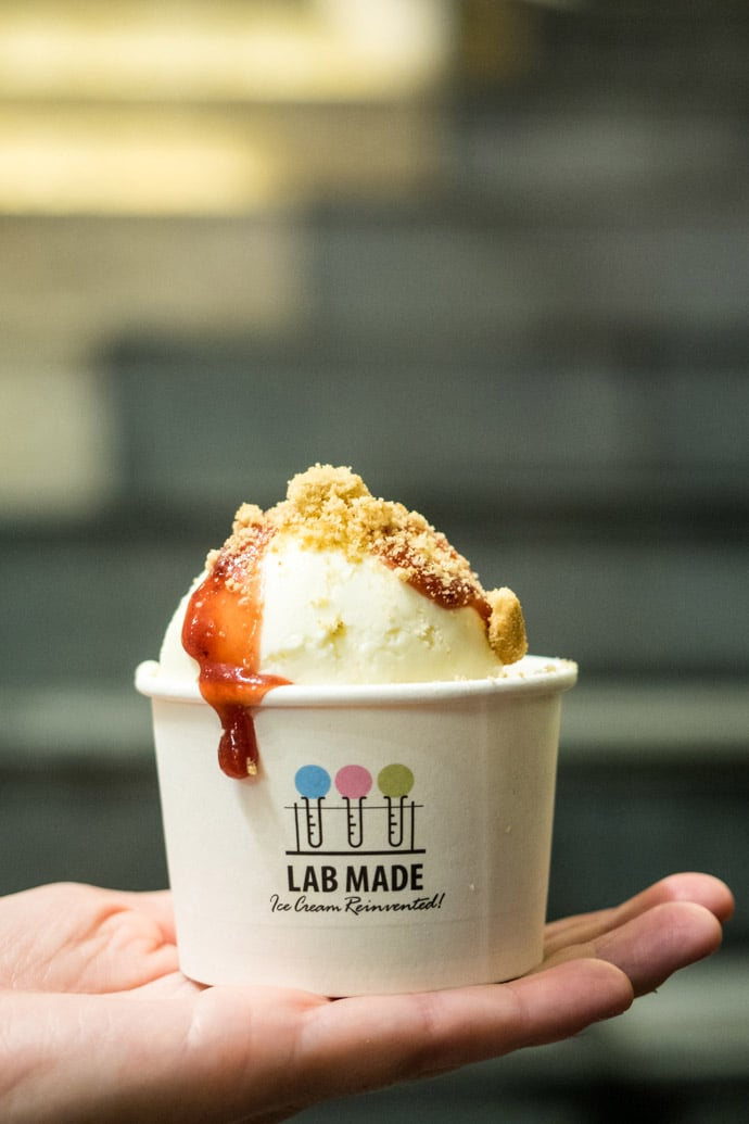 Lab Made Ice Cream Dessert Hong Kong
