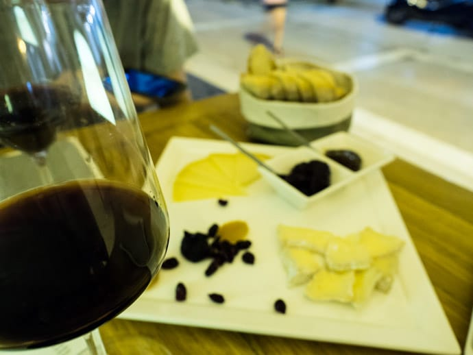 Paradox Wine Cheese Bar Split
