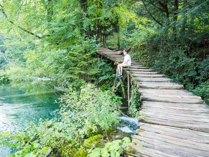 Plitvice Lakes And Chris