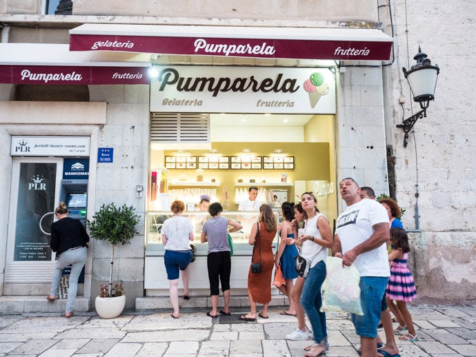 Pumparela Gelateria Split
