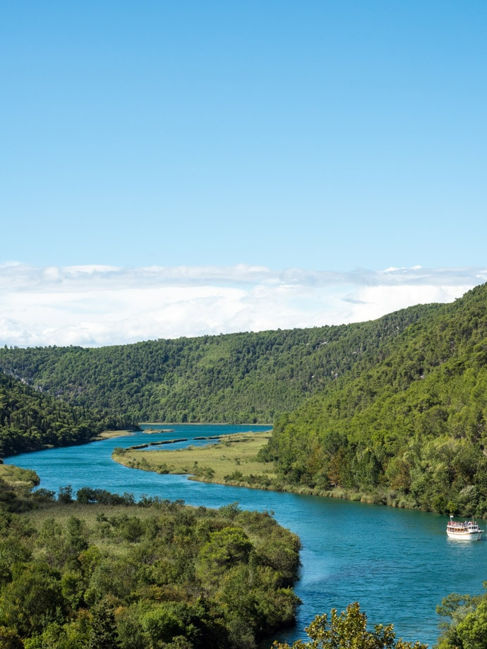 The Boat Trip To Krka