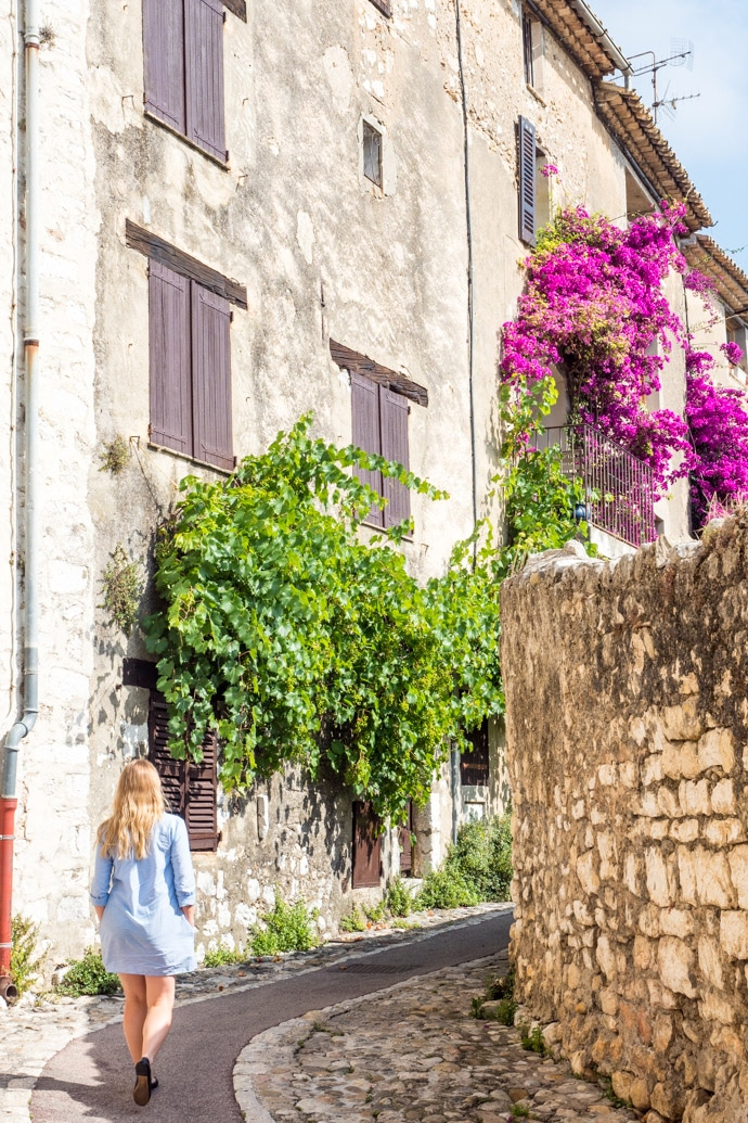 Walking around Saint Paul De Vence France