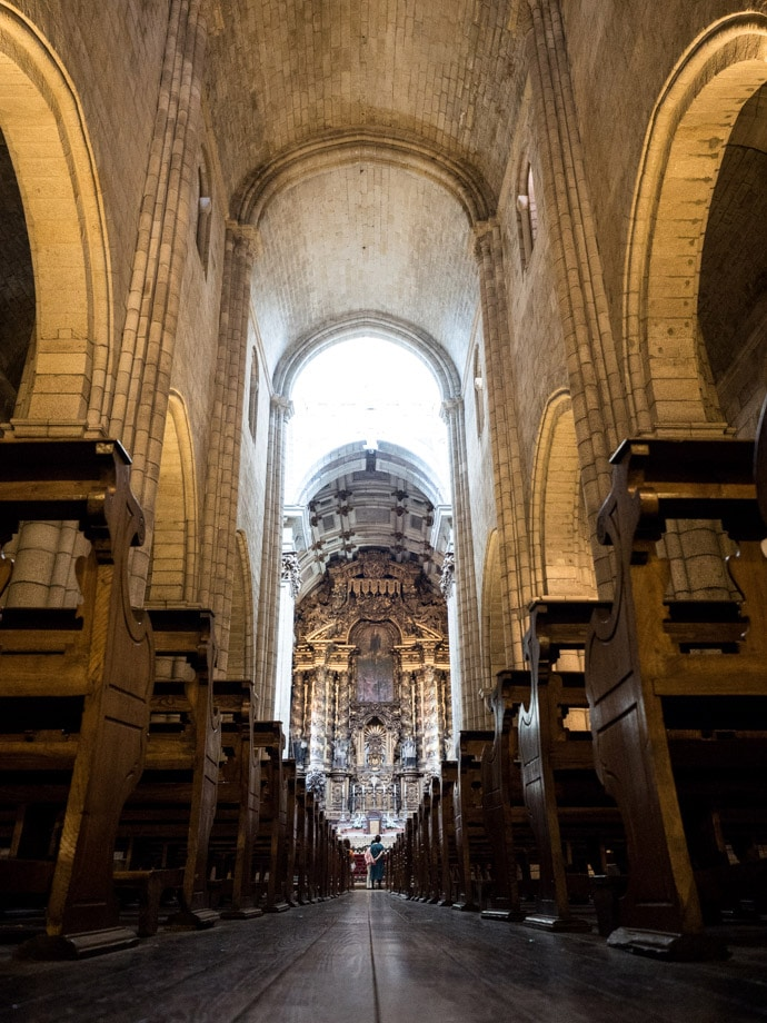 Porto Cathedral Interior