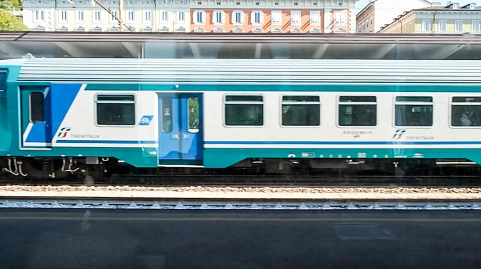 Train From Trieste To Venice