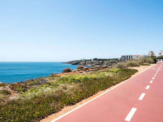 Cascais Coastal Bike Path Portugal