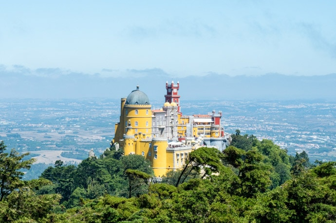 Pena Palace, Sintra: A Day Trip From Lisbon, Portugal