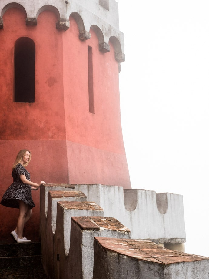Sintra Pena Palace Mandy In The Fog