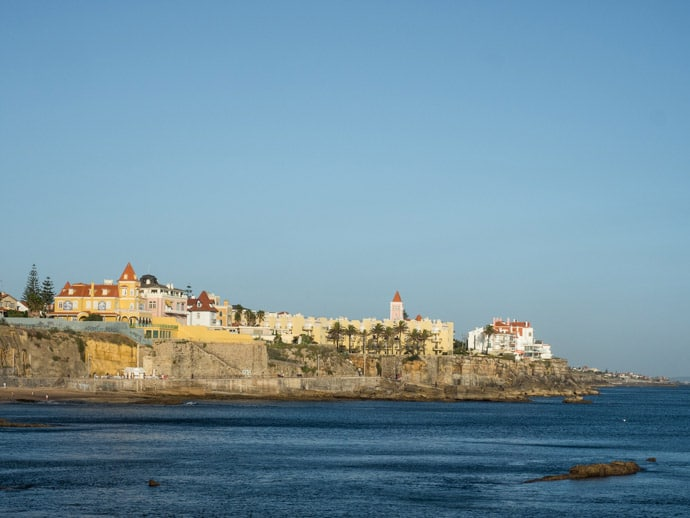View From Estoril Portugal
