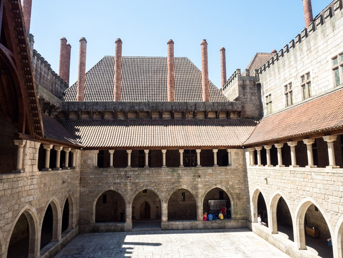 Palace Of The Dukes Of Braganza Guimaraes Portugal