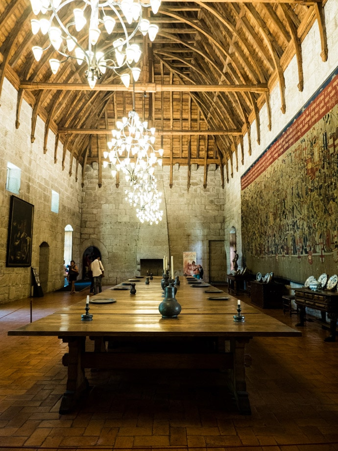 Palace Of The Dukes Of Braganza Guimaraes