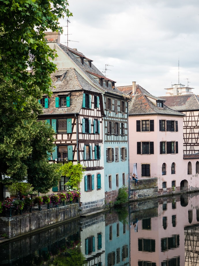Strasbourg Buildings And River