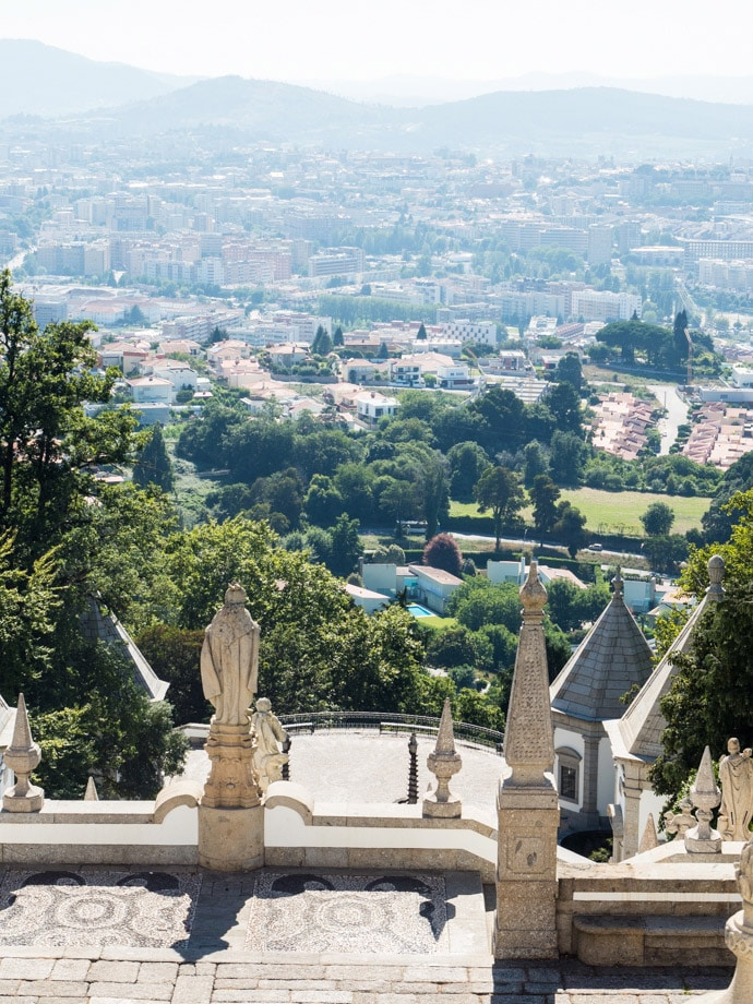 View From Bom Jesus Do Monte Portugal