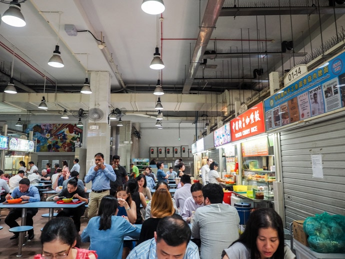 Amoy Street Food Centre Singapore